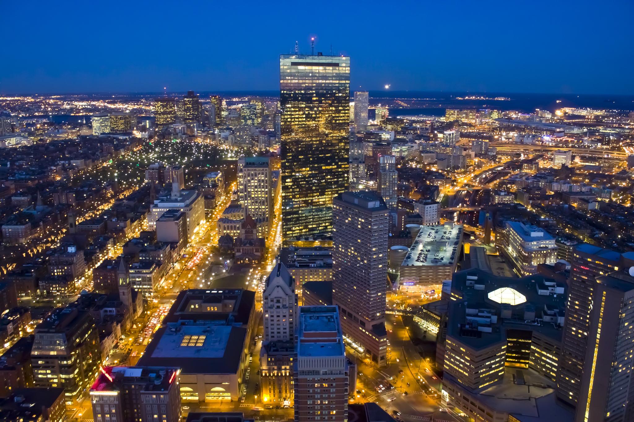 Conhecido Cidade de Boston - Capital de Massachusetts NR73