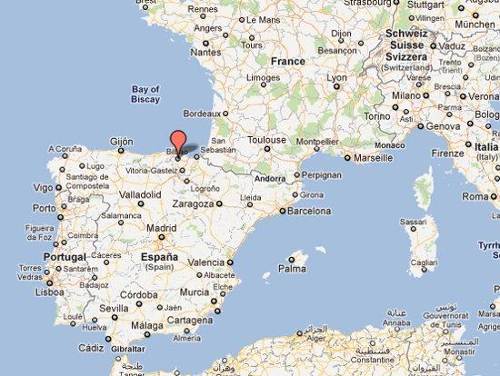 mapa espanha bilbao Cidade de Bilbao   Capital da Espanha mapa espanha bilbao